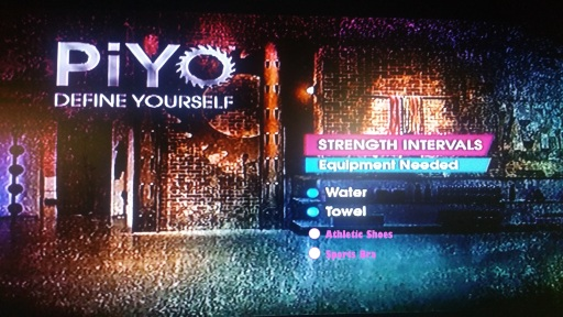 I updated the menu for PiYo's Strength Intervals with my recommendations