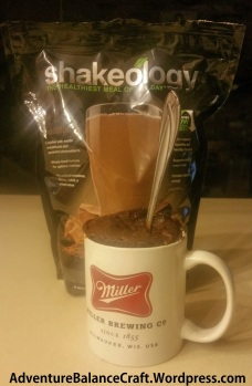 Peanut Butter Chocolate Shakeology Mug Cake