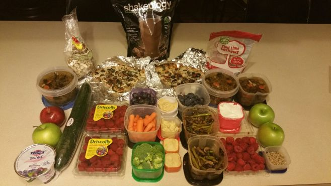 21 Day Fix Approved Meal Prep Organic and Clean