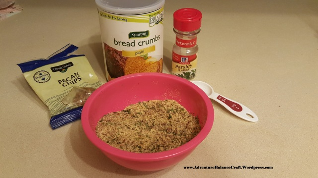 honey pecan salmond breading